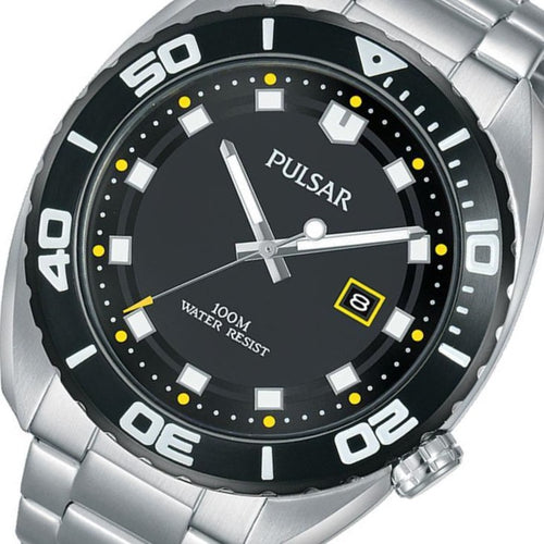 Pulsar Sports Stainless Steel Men's Watch -  PG8283X