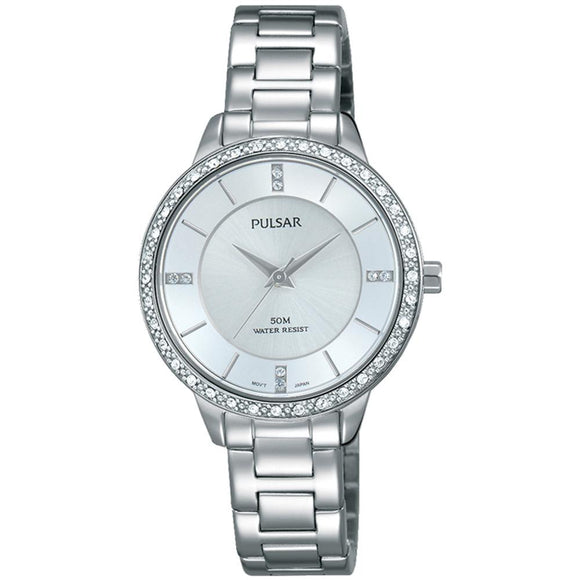 Pulsar Dress Stainless Steel Ladies Watch -  PH8213X