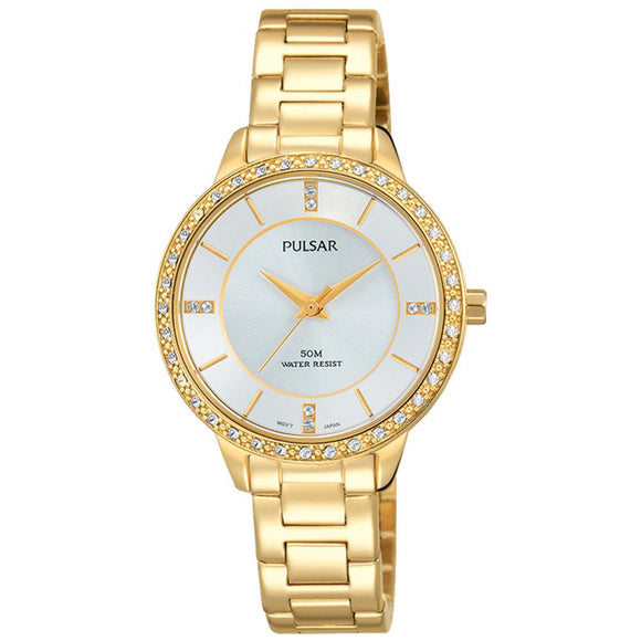 Pulsar Dress Stainless Steel Ladies Watch -  PH8218X