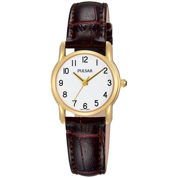 Pulsar Dress Leather Ladies Watch -  PH8262X