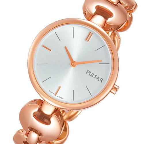 Pulsar Rose Gold Stainless Steel Ladies Watch -  PM2268X