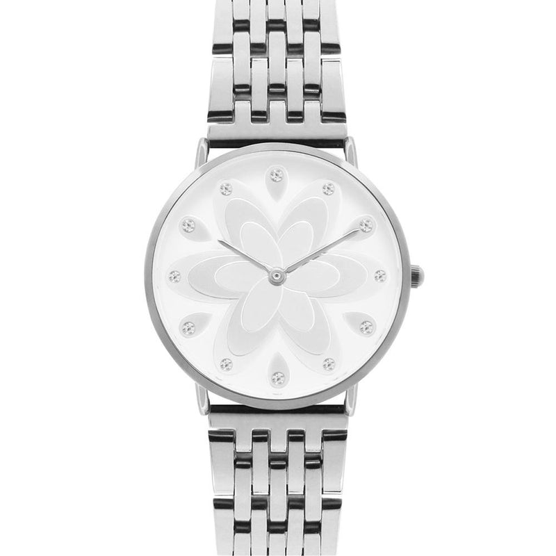 Q-Era Silver Steel Women's  Watch - QV2802-84