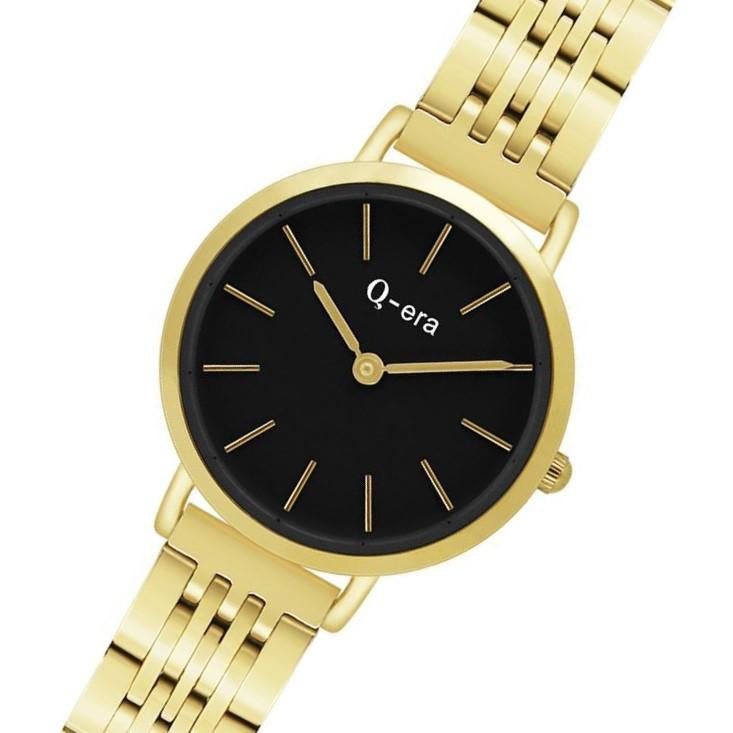 Q-Era Gold  Steel Women's  Watch - QV2803-42