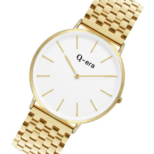 Q-era Gold Steel Women's Watch - QV2804-14