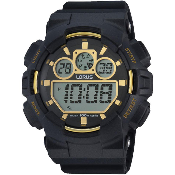 Lorus Digitial Sports Men's Watch -  R2332JX-9