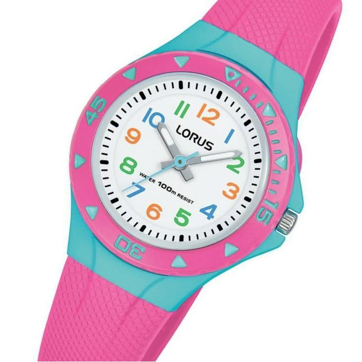 Lorus Pink Quartz Kids Watch - R2351MX-9