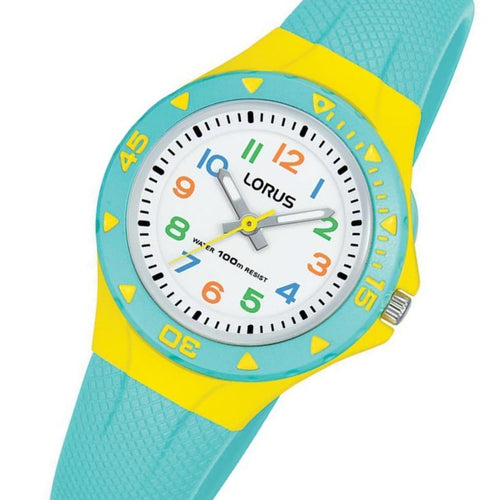 Lorus Yellow Quartz Kids Watch - R2353MX-9