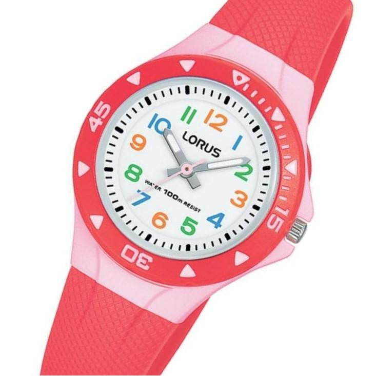 Lorus Pink Quartz Kids Watch - R2355MX-9