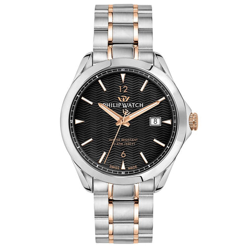 Philip Watch Blaze Two-tone Rose Gold Men's Watch - R8253165005