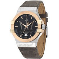 Maserati Potenza Men's Leather Watch - R8851108014