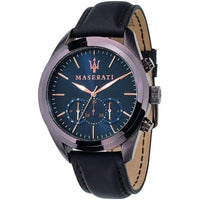 Maserati Traguardo Men's Leather Watch - R8871612008