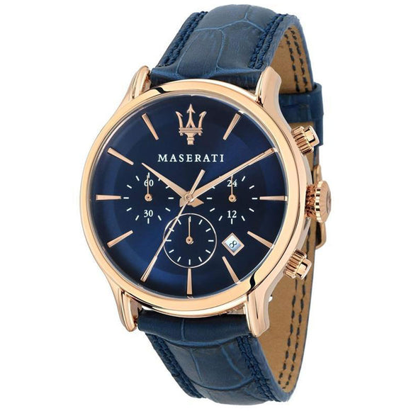 Maserati Epoca Men's Leather Watch - R8871618007