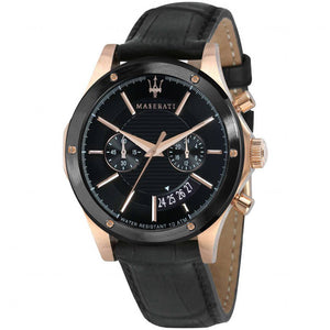 Maserati Record Men's Leather Watch - R8871627001