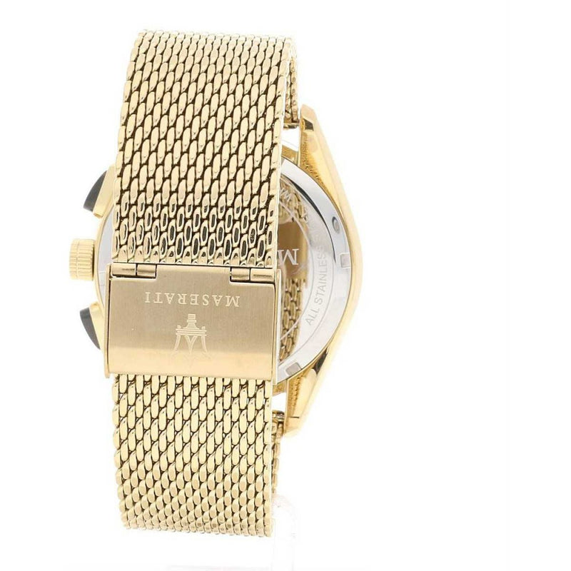 Maserati Traguardo Gold Mesh Men's Watch - R8873612010