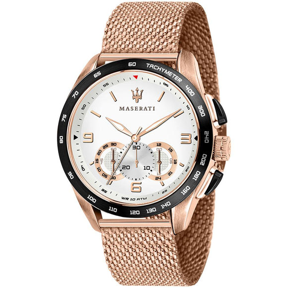 Maserati Traguardo Gold Mesh Men's Watch - R8873612011