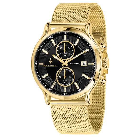 Maserati Epoca 42mm Gold Mesh Men's Watch - R8873618007