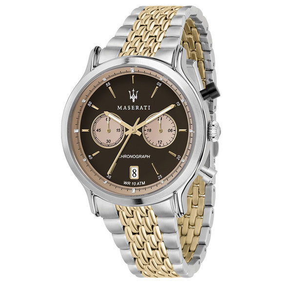 Maserati Epoca 42mm Gold & Stainless Steel Men's Watch - R8873638003