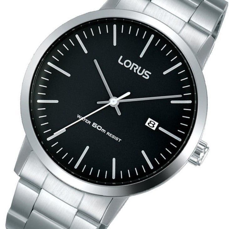 Lorus Stainless Steel Men's Quartz Watch -  RH989JX-9