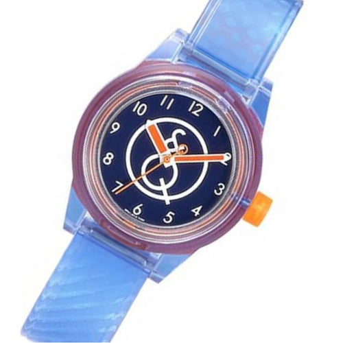 Q&Q SmileSolar Mini Blue Solar Unisex Watch - RP01J010Y