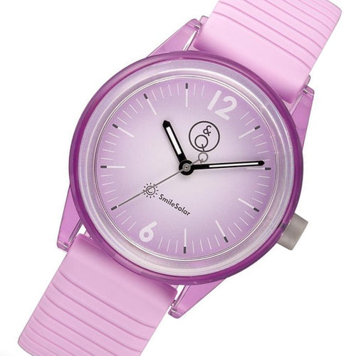 Q&Q SmileSolar Purple Solar Unisex Watch - RP18J014Y