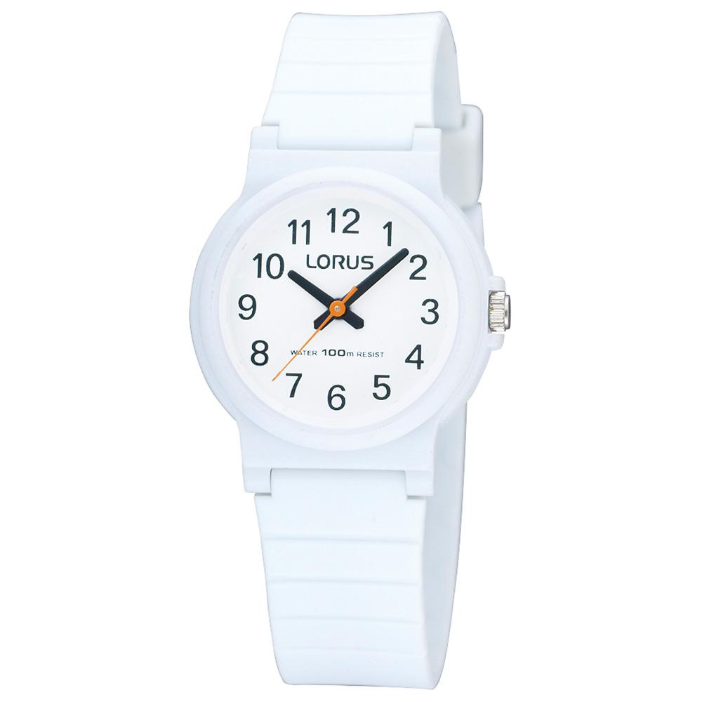 Lorus Casual White Quartz Watch -  RRX11DX-9