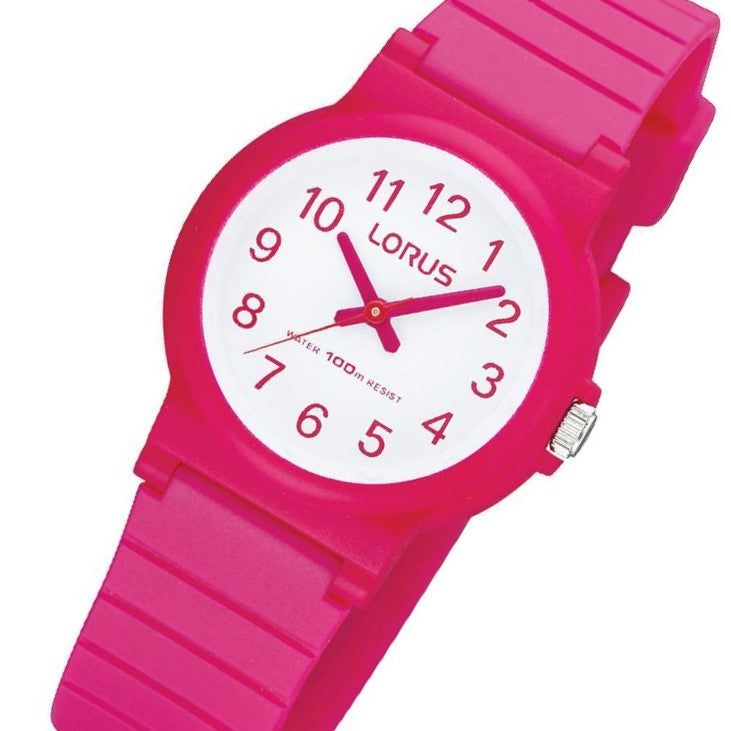 Lorus Pink Quartz Kids Watch - RRX13DX-9