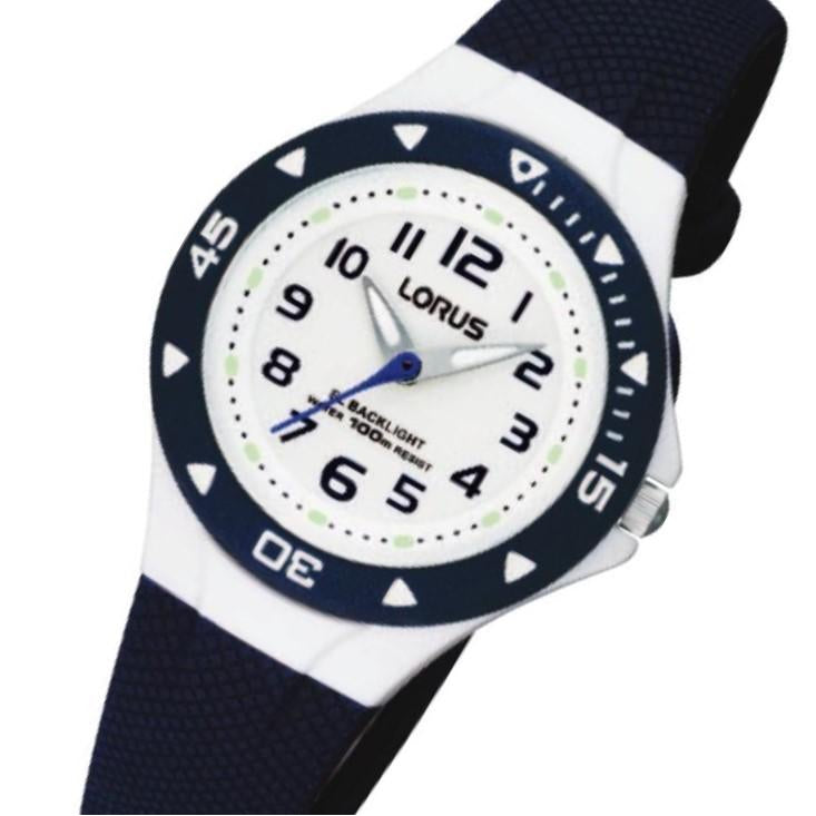 Lorus Navy Blue Quartz Kids Watch - RRX43CX-9