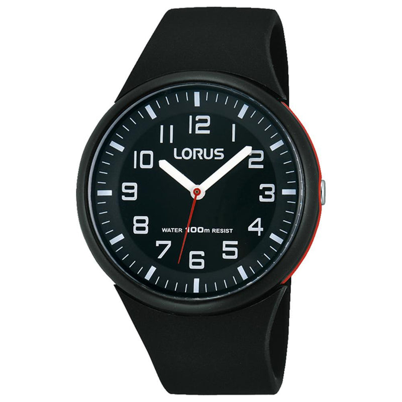 Lorus Casual Black Quartz Watch -  RRX47DX-9