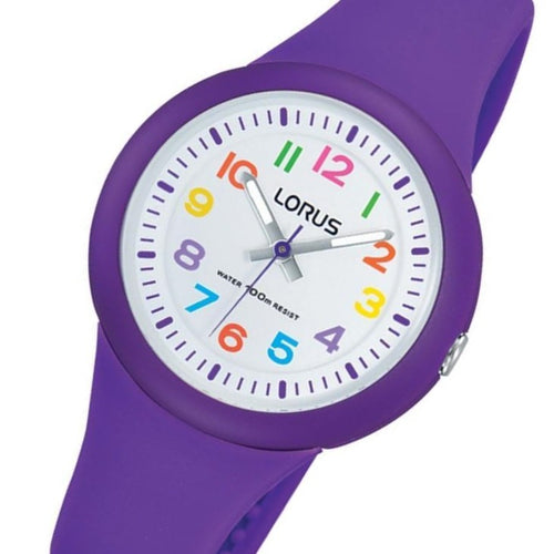 Lorus Purple Quartz Kids Watch - RRX47EX-9