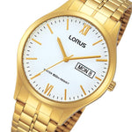 Lorus Gold Toned Stainless Steel Men's Watch - RXN02DX-9