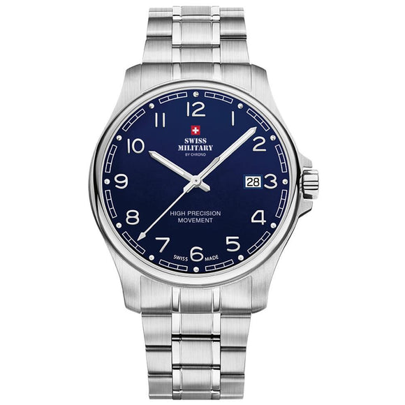 Swiss Military Stainless Steel Men's Watch - SM30200.18
