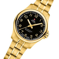 Swiss Military Gold Stainless Steel Women's Watch - SM30201.22