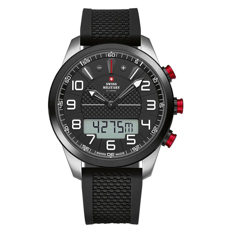Swiss Military Limited Edition Chrono with Altimeter Men's Watch - SM34061.01