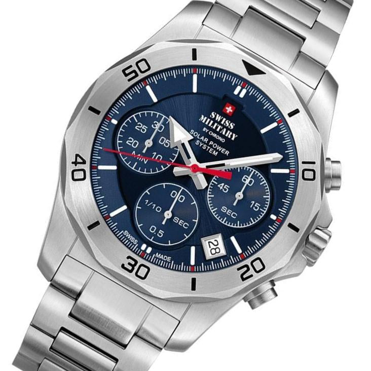Swiss Military Solar Powered Men's Watch - SMS34072.02