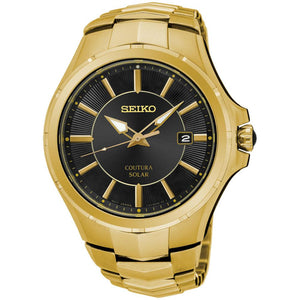Seiko Coutura Solar Powered Men's Watch -  SNE420P