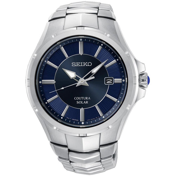 Seiko Coutura Solar Powered Men's Watch -  SNE511P