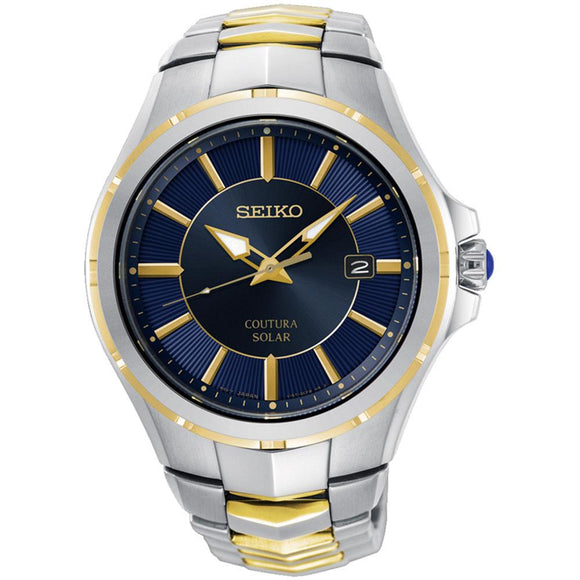 Seiko Coutura Solar Powered Men's Watch -  SNE514P