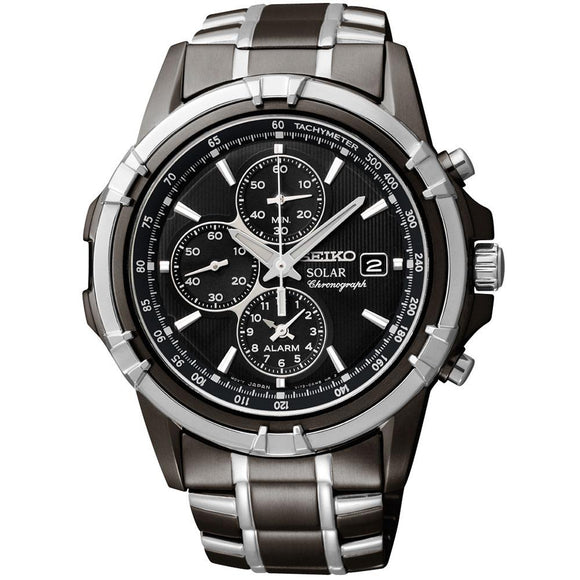 Seiko Conceptual Solar Powered Men's Watch -  SSC143P-9