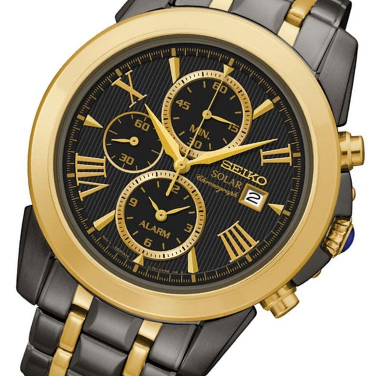 Seiko Le Grand Sport Solar Chronograph Men's Watch - SSC218P