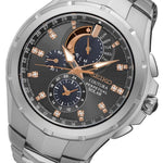 Seiko Coutura Perpetual Solar Powered Men's Watch - SSC561P-9