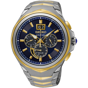 Seiko Coutura Solar Powered Men's Watch -  SSC642P