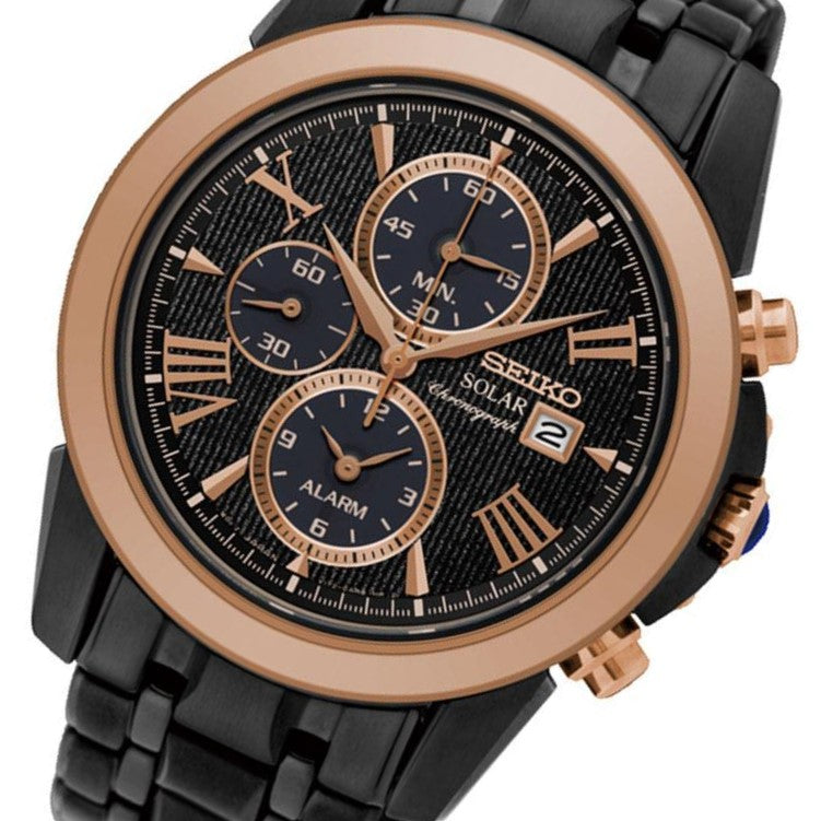 Seiko Le Grand Sport Solar Chronograph Men's Watch - SSC644P