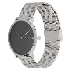 Tommy Hilfiger Men's Silver Mesh Watch - 1791465