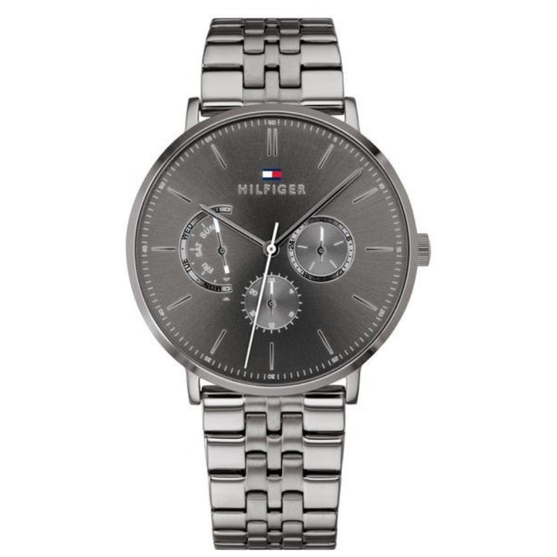 Tommy Hilfiger Grey Stainless Steel Men's Watch - 1710374