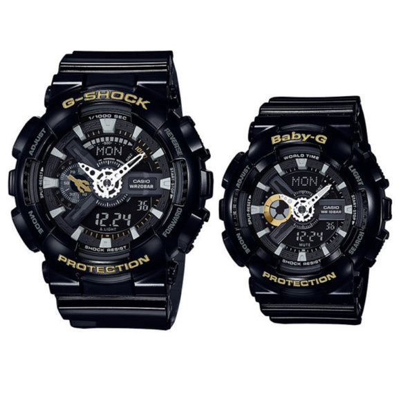 Casio G-Shock & Baby-G Limited Edition Couples Set - 110SLV-1A