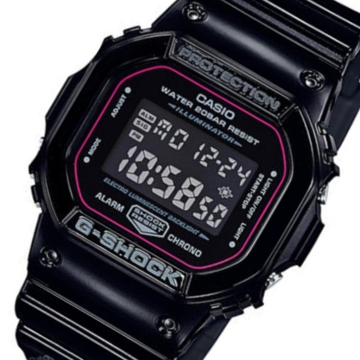 Casio G-Shock Limited Edition Digital Men's Watch - DW5600SLV-1D