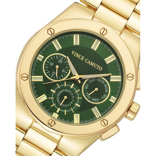 Vince Camuto Gold Steel Men's Watch - VC1104GRGP