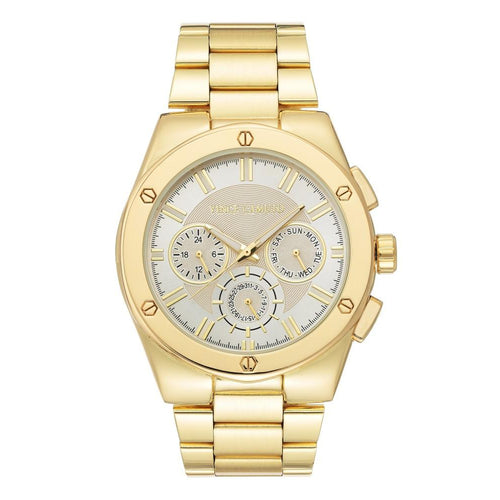 Vince Camuto Gold Steel Men's  Watch - VC1104SVGP