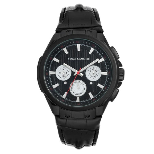 Vince Camuto Black Multi-Dial Men's  Watch - VC1123BKBK