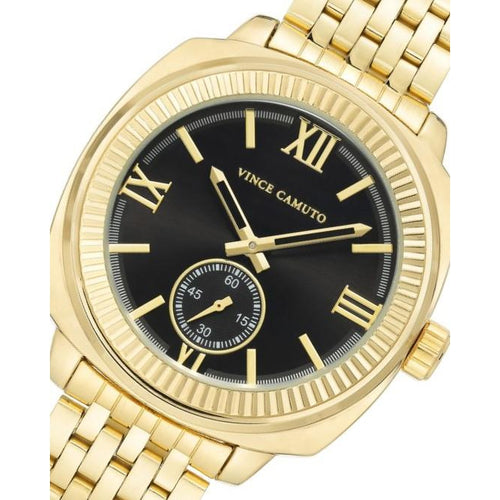 Vince Camuto Gold Steel Men's Watch - VC1132BKGP